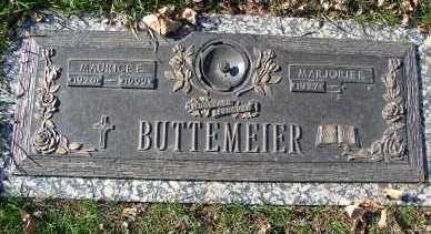 BUTTEMEIER, MAURICE E. - Minnehaha County, South Dakota   MAURICE E. BUTTEMEIER - South Dakota Gravestone Photos