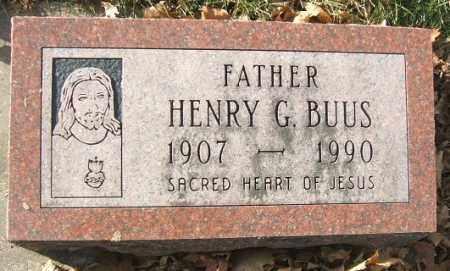 BUUS, HENRY G. - Minnehaha County, South Dakota | HENRY G. BUUS - South Dakota Gravestone Photos