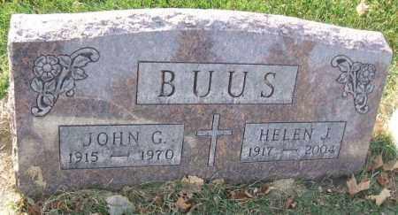ALLEN BUUS, HELEN JUANITA - Minnehaha County, South Dakota | HELEN JUANITA ALLEN BUUS - South Dakota Gravestone Photos