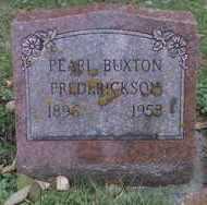 FREDERICKSON, PEARL V. - Minnehaha County, South Dakota | PEARL V. FREDERICKSON - South Dakota Gravestone Photos