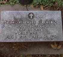 BUXTON, GEORGE OTIS - Minnehaha County, South Dakota | GEORGE OTIS BUXTON - South Dakota Gravestone Photos