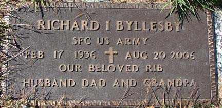 BYLLESBY, RICHARD I. - Minnehaha County, South Dakota | RICHARD I. BYLLESBY - South Dakota Gravestone Photos
