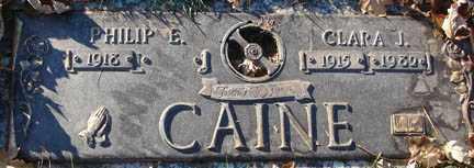 CAINE, CLARA J. - Minnehaha County, South Dakota | CLARA J. CAINE - South Dakota Gravestone Photos