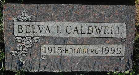 HOLMBERG CALDWELL, BELVA I. - Minnehaha County, South Dakota | BELVA I. HOLMBERG CALDWELL - South Dakota Gravestone Photos