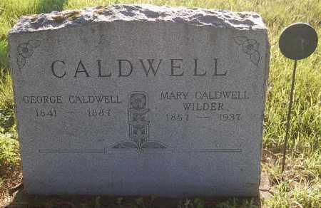 WILDER CALDWELL, MARY - Minnehaha County, South Dakota | MARY WILDER CALDWELL - South Dakota Gravestone Photos