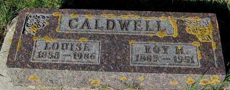 CALDWELL, ROY M. - Minnehaha County, South Dakota | ROY M. CALDWELL - South Dakota Gravestone Photos