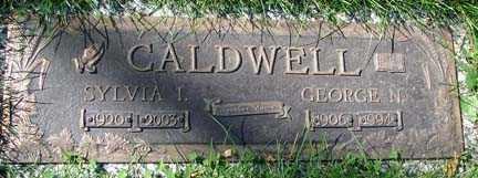 CALDWELL, GEORGE N. - Minnehaha County, South Dakota   GEORGE N. CALDWELL - South Dakota Gravestone Photos