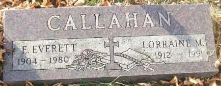 CALLAHAN, LORRAINE M. - Minnehaha County, South Dakota   LORRAINE M. CALLAHAN - South Dakota Gravestone Photos