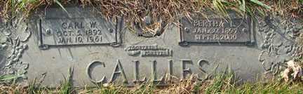CALLIES, BETHA L. - Minnehaha County, South Dakota | BETHA L. CALLIES - South Dakota Gravestone Photos