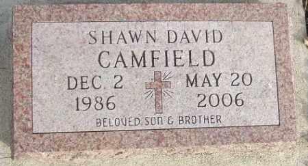 CAMFIELD, SHAWN DAVID - Minnehaha County, South Dakota | SHAWN DAVID CAMFIELD - South Dakota Gravestone Photos