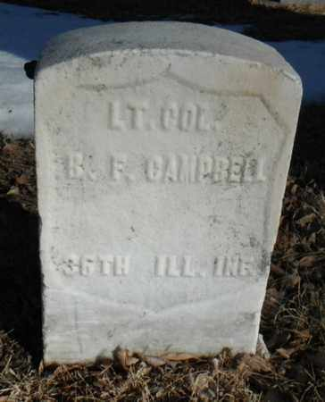 CAMPBELL, BENJAMIN FRANKLIN - Minnehaha County, South Dakota   BENJAMIN FRANKLIN CAMPBELL - South Dakota Gravestone Photos