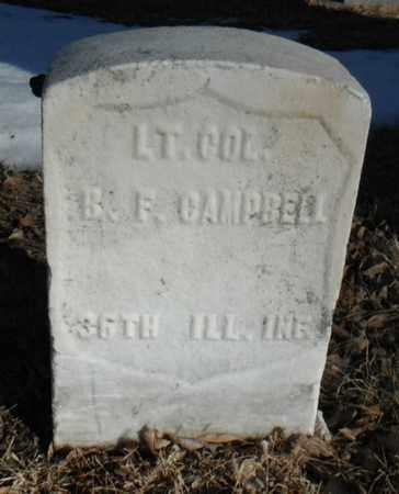 CAMPBELL, BENJAMIN FRANKLIN - Minnehaha County, South Dakota | BENJAMIN FRANKLIN CAMPBELL - South Dakota Gravestone Photos