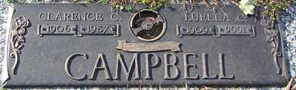 CAMPBELL, CLARENCE C. - Minnehaha County, South Dakota | CLARENCE C. CAMPBELL - South Dakota Gravestone Photos