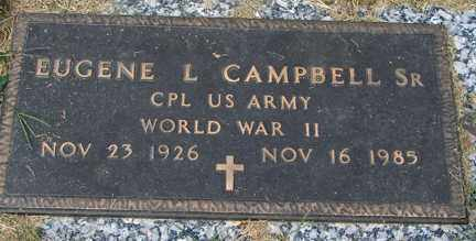 CAMPBELL, EUGENE L. SR. (WWII) - Minnehaha County, South Dakota | EUGENE L. SR. (WWII) CAMPBELL - South Dakota Gravestone Photos