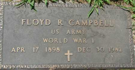 CAMPBELL, FLOYD R. - Minnehaha County, South Dakota | FLOYD R. CAMPBELL - South Dakota Gravestone Photos