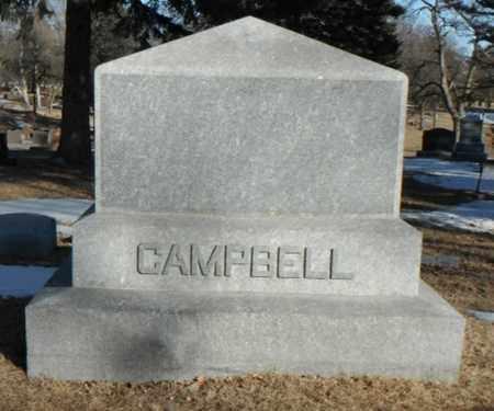 CAMPBELL, FAMILY STONE - Minnehaha County, South Dakota   FAMILY STONE CAMPBELL - South Dakota Gravestone Photos