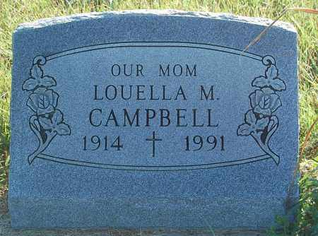 CAMPBELL, LOUELLA M. - Minnehaha County, South Dakota | LOUELLA M. CAMPBELL - South Dakota Gravestone Photos
