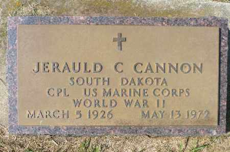 CANNON, JERAULD C. - Minnehaha County, South Dakota | JERAULD C. CANNON - South Dakota Gravestone Photos