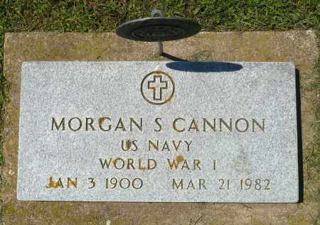 CANNON, MORGAN S. (WWI) - Minnehaha County, South Dakota | MORGAN S. (WWI) CANNON - South Dakota Gravestone Photos