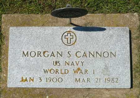 CANNON, MORGAN S. (WWI) - Minnehaha County, South Dakota   MORGAN S. (WWI) CANNON - South Dakota Gravestone Photos