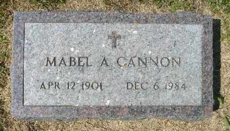 CANNON, MABEL A. - Minnehaha County, South Dakota | MABEL A. CANNON - South Dakota Gravestone Photos
