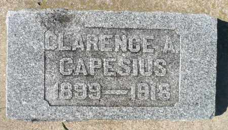 CAPESIUS, CLARENCE - Minnehaha County, South Dakota | CLARENCE CAPESIUS - South Dakota Gravestone Photos