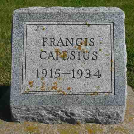 CAPESIUS, FRANCIS - Minnehaha County, South Dakota | FRANCIS CAPESIUS - South Dakota Gravestone Photos