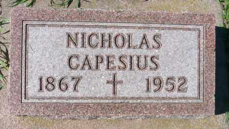 CAPESIUS, NICHOLAS - Minnehaha County, South Dakota | NICHOLAS CAPESIUS - South Dakota Gravestone Photos