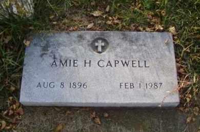 CAPWELL, AMIE H. - Minnehaha County, South Dakota | AMIE H. CAPWELL - South Dakota Gravestone Photos