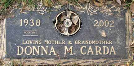 ANDERSON CARDA, DONNA MAE - Minnehaha County, South Dakota | DONNA MAE ANDERSON CARDA - South Dakota Gravestone Photos