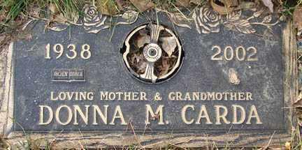 CARDA, DONNA MAE - Minnehaha County, South Dakota | DONNA MAE CARDA - South Dakota Gravestone Photos
