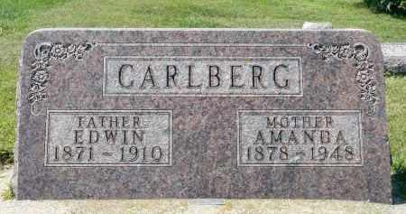 CARLBERG, EDWIN - Minnehaha County, South Dakota | EDWIN CARLBERG - South Dakota Gravestone Photos