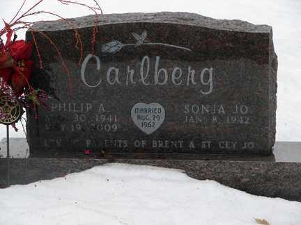 CARLBERG, PHILLIP A. - Minnehaha County, South Dakota | PHILLIP A. CARLBERG - South Dakota Gravestone Photos