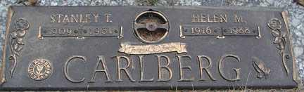 CARLBERG, HELEN M. - Minnehaha County, South Dakota | HELEN M. CARLBERG - South Dakota Gravestone Photos