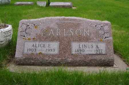 CARLSON, ALICE ELDORA - Minnehaha County, South Dakota | ALICE ELDORA CARLSON - South Dakota Gravestone Photos