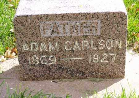 CARLSON, ADAM - Minnehaha County, South Dakota   ADAM CARLSON - South Dakota Gravestone Photos