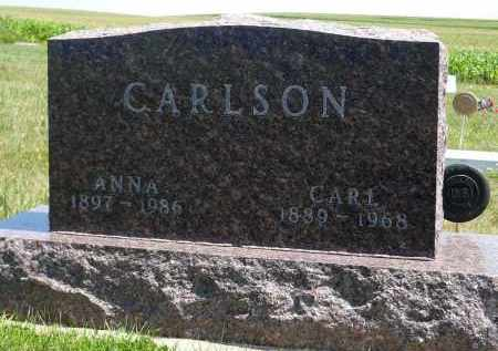 CARLSON, ANNA - Minnehaha County, South Dakota | ANNA CARLSON - South Dakota Gravestone Photos