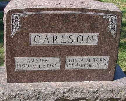 CARLSON, ANDREW - Minnehaha County, South Dakota | ANDREW CARLSON - South Dakota Gravestone Photos