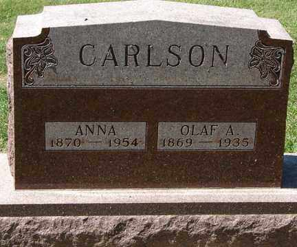CARLSON, OLAF A. - Minnehaha County, South Dakota | OLAF A. CARLSON - South Dakota Gravestone Photos