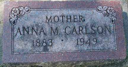 CARLSON, ANNA M. - Minnehaha County, South Dakota | ANNA M. CARLSON - South Dakota Gravestone Photos
