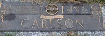 CARLSON, EDNA M. - Minnehaha County, South Dakota   EDNA M. CARLSON - South Dakota Gravestone Photos