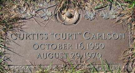 CARLSON, CURTISS - Minnehaha County, South Dakota | CURTISS CARLSON - South Dakota Gravestone Photos