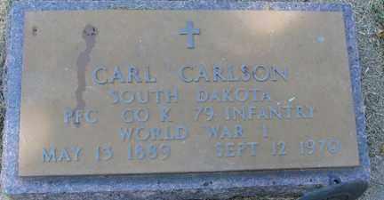 CARLSON, CARL - Minnehaha County, South Dakota   CARL CARLSON - South Dakota Gravestone Photos