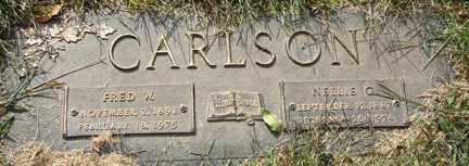 CARLSON, FRED A. - Minnehaha County, South Dakota   FRED A. CARLSON - South Dakota Gravestone Photos
