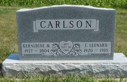CARLSON, GERALDINE M. - Minnehaha County, South Dakota | GERALDINE M. CARLSON - South Dakota Gravestone Photos