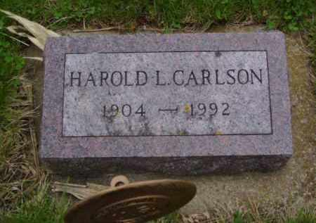 CARLSON, HAROLD L. - Minnehaha County, South Dakota | HAROLD L. CARLSON - South Dakota Gravestone Photos