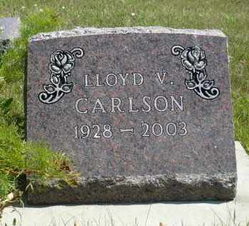 CARLSON, LLOYD V. - Minnehaha County, South Dakota | LLOYD V. CARLSON - South Dakota Gravestone Photos