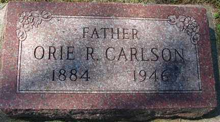 CARLSON, ORIE R. - Minnehaha County, South Dakota   ORIE R. CARLSON - South Dakota Gravestone Photos