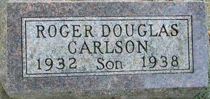 CARLSON, ROGER DOUGLAS - Minnehaha County, South Dakota | ROGER DOUGLAS CARLSON - South Dakota Gravestone Photos