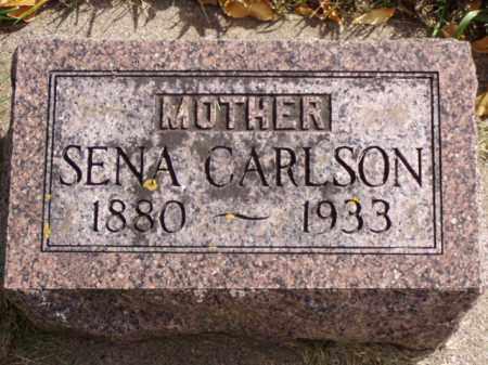 CARLSON, SENA - Minnehaha County, South Dakota | SENA CARLSON - South Dakota Gravestone Photos